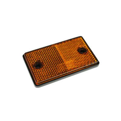 Rectangle Amber Reflector Trailer Side MP853B