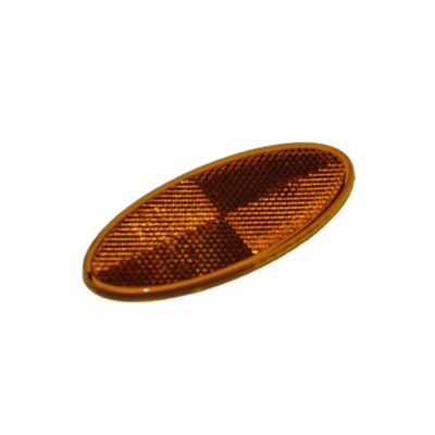Oval Amber Reflector Trailer Side MP8563B