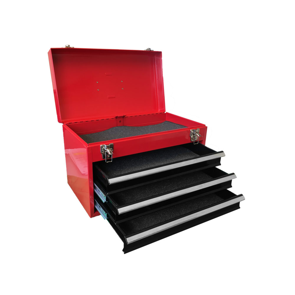Red Steel Toolbox 435x240x280