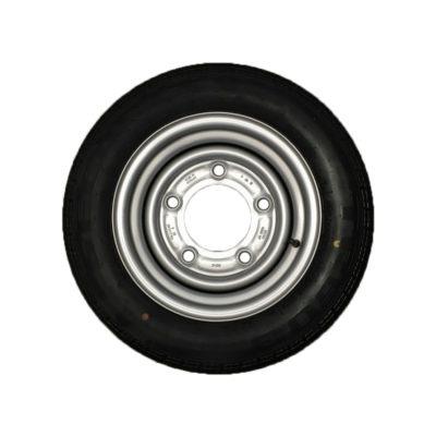Wheel & Tyre 155/70 R12 5 Stud PCD 6.5 Inch