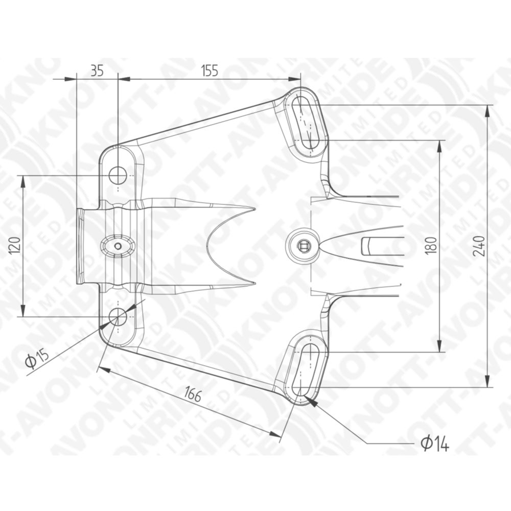 Knott KFG27 Coupling Drawing