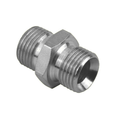 "Stainless Steel BSP 3/8"" Male x BSP 3/8"" Male"