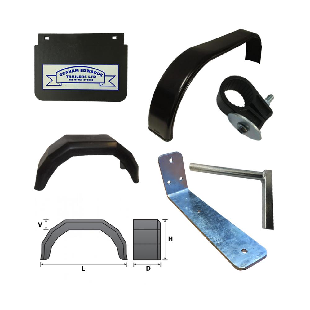 Mudguards & Accessories brackets
