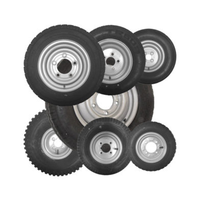"10"" Trailer Wheels"