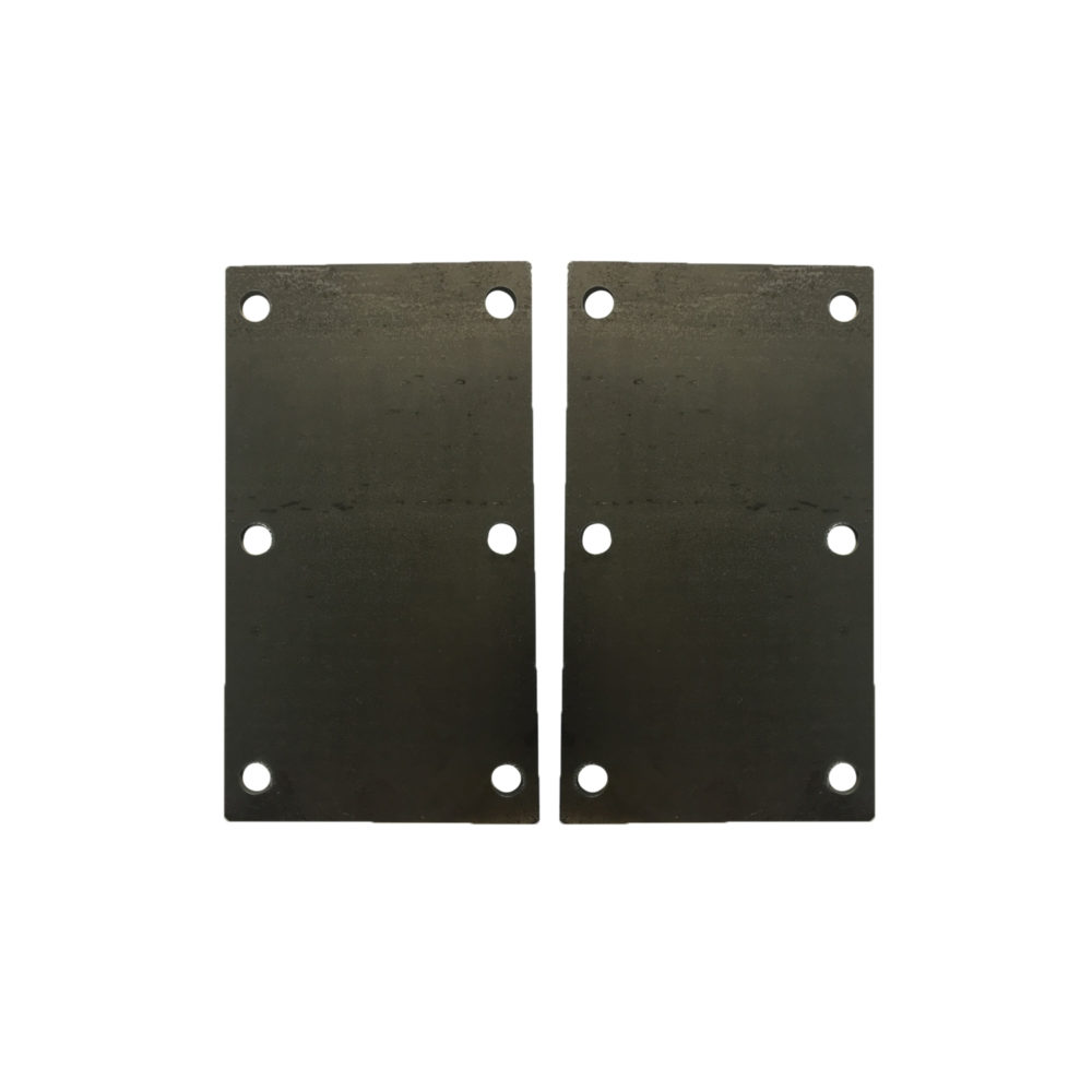 6 Hole Suspension Unit Mounting Plates 4mm
