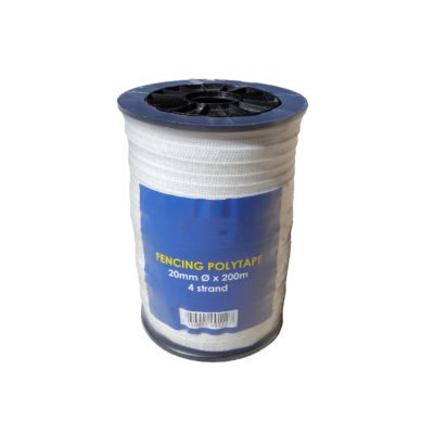 Fencing Tape Poly 20mm