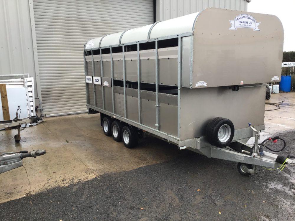 DM14T Livestock Trailer Power Deck - 2018