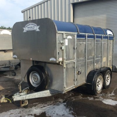 GET126 Livestock Trailer Power Deck - 2010