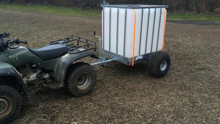 ATV Water Bowser
