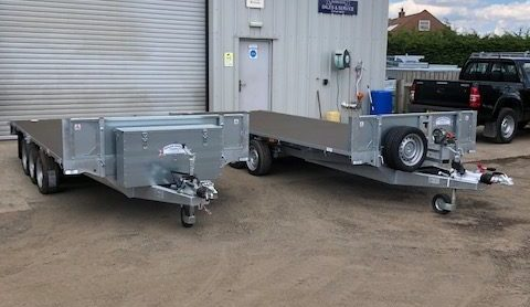 Flatbed Trailer Stock Available
