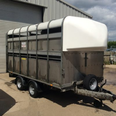 Ifor Williams Livestock Trailer DP120S Front