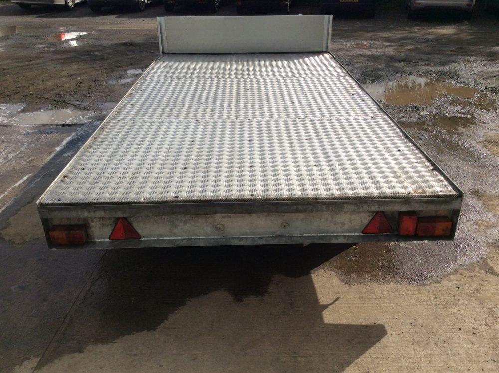 FB3512T Flatbed Trailer 12ft x 6ft6in Ali Floor