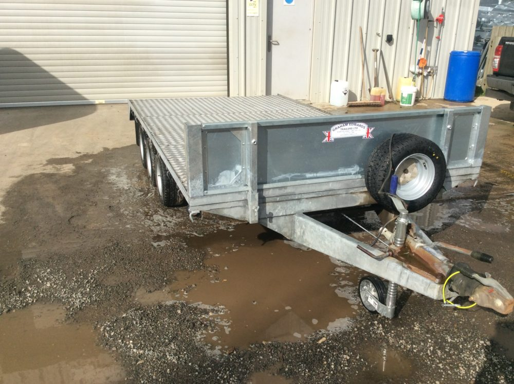 FB3512T Flatbed Trailer 12ft x 6ft6in - 2006