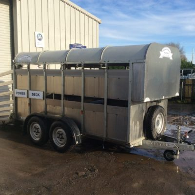 GET126 Fully Equipped Livestock Trailer Power Deck