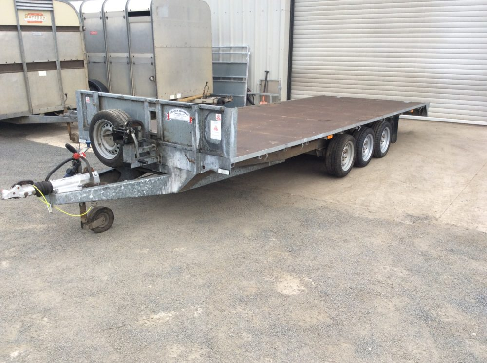 FB3518T Flatbed Trailer 18ft x 6ft 6Inch - 2019