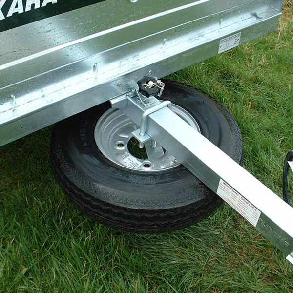 Universal Spare Wheel Carrier Fitted