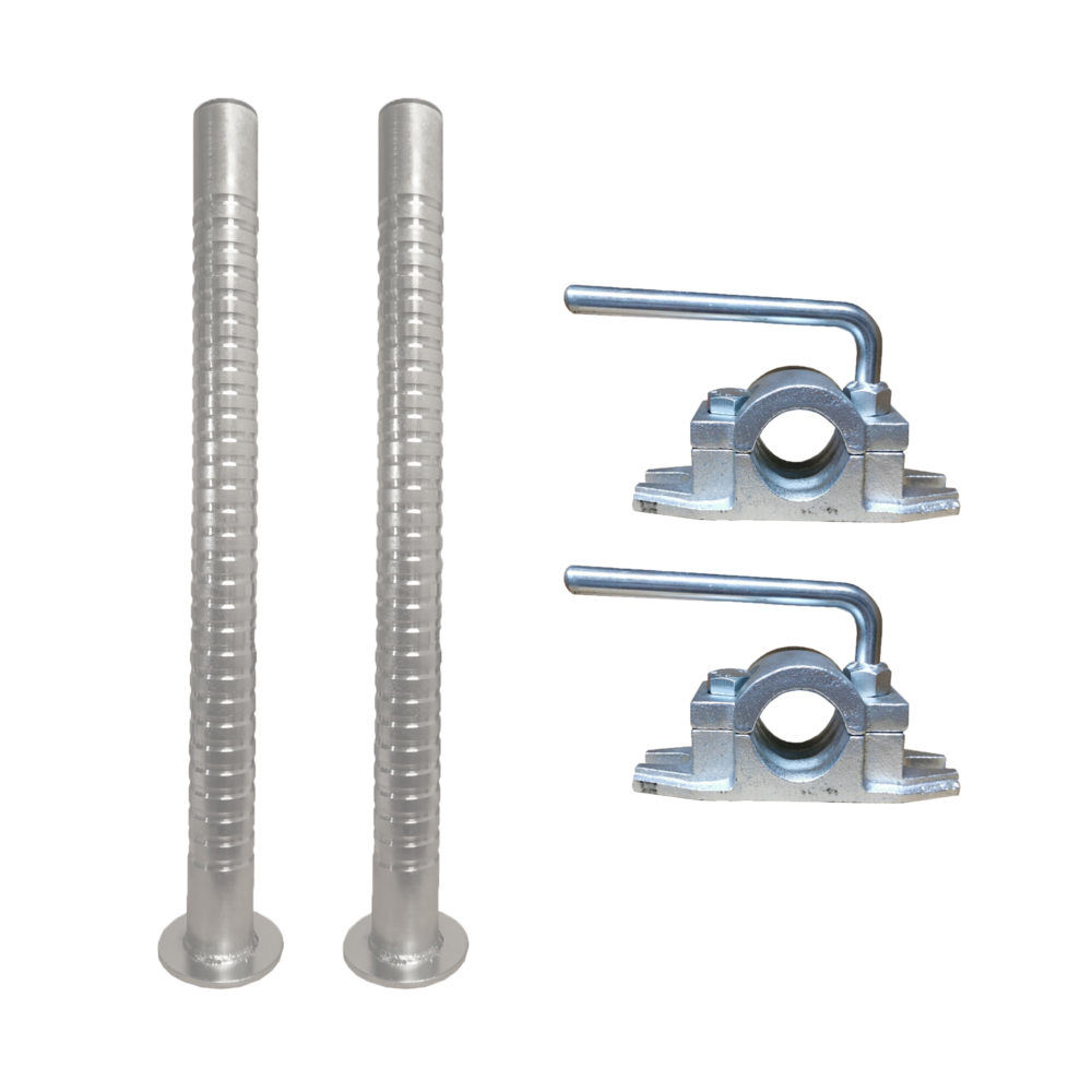 Trailer Prop Stand Kit - Stabilisers & Clamps