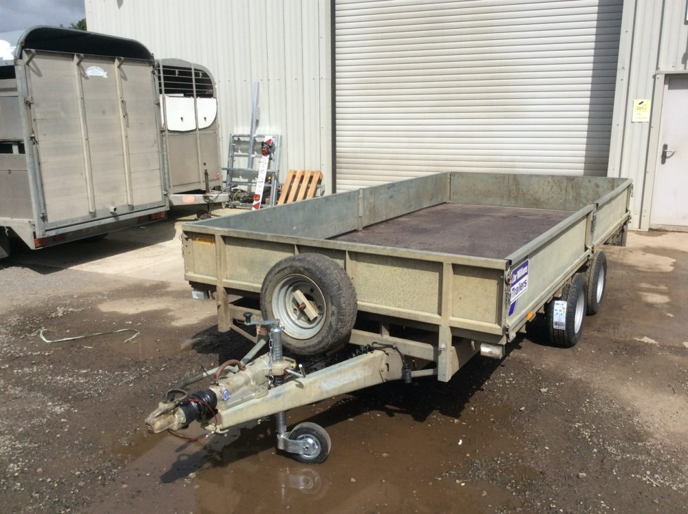 Ifor Williams Flatbed Trailer 14ft x 6ft6inch - 2010 Front