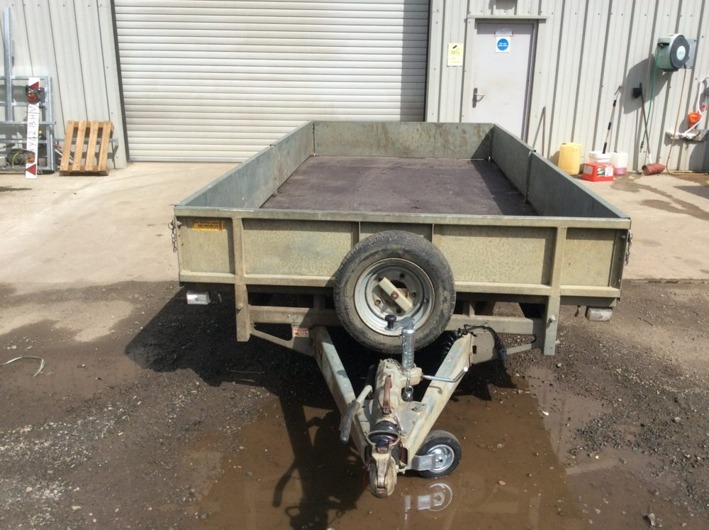 Ifor Williams Flatbed Trailer 14ft x 6ft6inch - 2010 Headboard