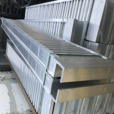Pair of 8ft Ifor Williams Ramps Alloy