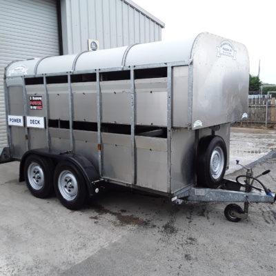 GET126H Livestock Trailer C/W Power Deck - 2013