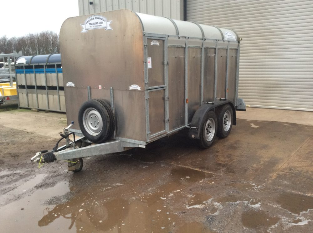 GET126H Livestock Trailer No Deck - 2017