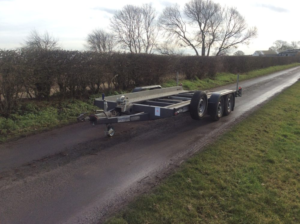 Graham Edwards Car Transporter 14ft x 6ft1inch - CT2514