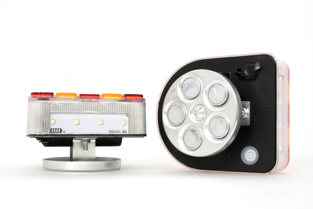 CONNIX Wireless Trailer Lights on its side