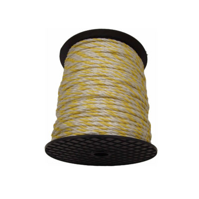 Fencing Rope Poly Electro 6.5mm 6 Strand - 200m