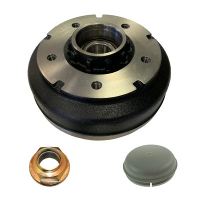 "Ifor Williams Brake Drum 250x40 5 Stud Hub 6.5"" PCD KS0827"