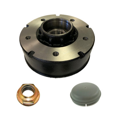 "Ifor Williams Brake Drum 200x50 5 Stud Hub 6.5"" PCD - KS0826"