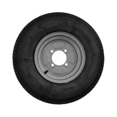 "Wheel & Tyre 500x10"" 115mm PCD 4 Stud"