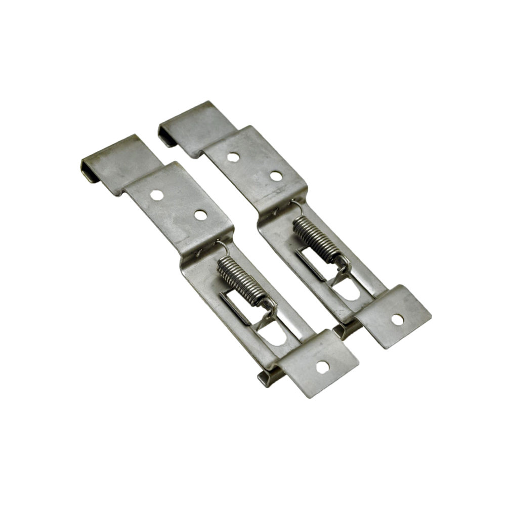 Number Plate Clips Pair - Standard Type